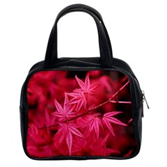 Red Autumn Classic Handbag (Two Sides)