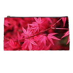Red Autumn Pencil Case
