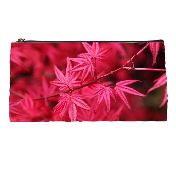 Red Autumn Pencil Case