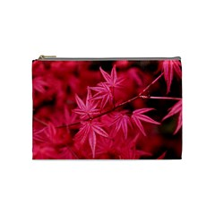 Red Autumn Cosmetic Bag (Medium)