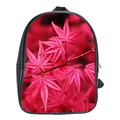 Red Autumn School Bag (Large)