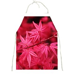 Red Autumn Apron