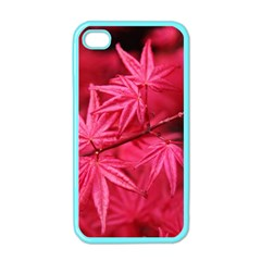 Red Autumn Apple iPhone 4 Case (Color)