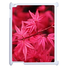 Red Autumn Apple iPad 2 Case (White)