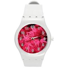 Red Autumn Plastic Sport Watch (Medium)