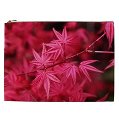 Red Autumn Cosmetic Bag (XXL)