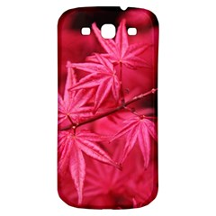 Red Autumn Samsung Galaxy S3 S Iii Classic Hardshell Back Case