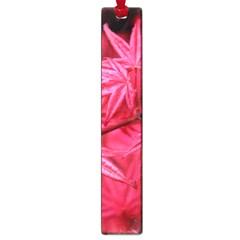 Red Autumn Large Bookmark
