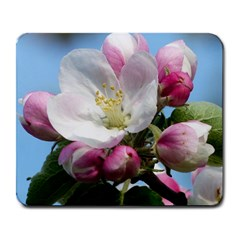 Apple Blossom  Large Mouse Pad (Rectangle)