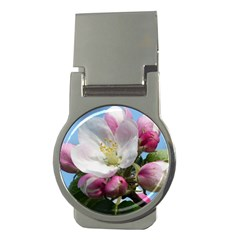 Apple Blossom  Money Clip (Round)