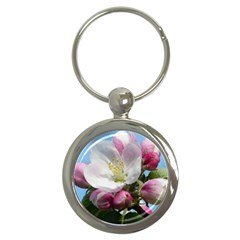 Apple Blossom  Key Chain (Round)