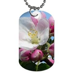 Apple Blossom  Dog Tag (one Sided)