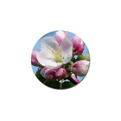 Apple Blossom  Golf Ball Marker 10 Pack