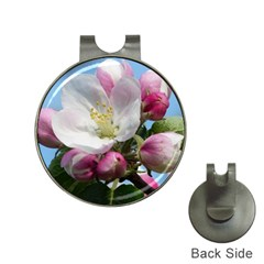 Apple Blossom  Hat Clip with Golf Ball Marker