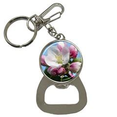 Apple Blossom  Bottle Opener Key Chain