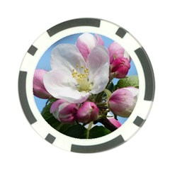 Apple Blossom  Poker Chip 10 Pack