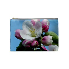 Apple Blossom  Cosmetic Bag (Medium)