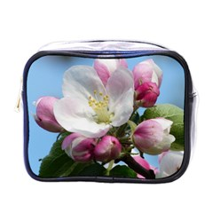 Apple Blossom  Mini Travel Toiletry Bag (One Side)