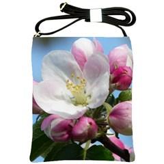 Apple Blossom  Shoulder Sling Bag