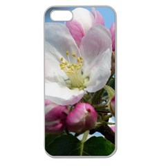 Apple Blossom  Apple Seamless iPhone 5 Case (Clear)