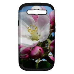 Apple Blossom  Samsung Galaxy S III Hardshell Case (PC+Silicone)