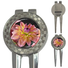 Dahlia Garden  Golf Pitchfork & Ball Marker