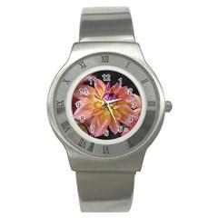 Dahlia Garden  Stainless Steel Watch (unisex)