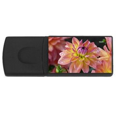 Dahlia Garden  4gb Usb Flash Drive (rectangle)