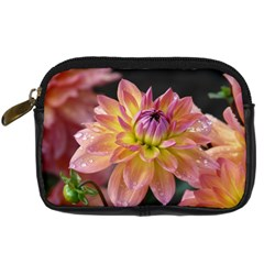 Dahlia Garden  Digital Camera Leather Case