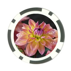 Dahlia Garden  Poker Chip 10 Pack