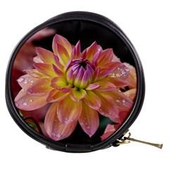 Dahlia Garden  Mini Makeup Case