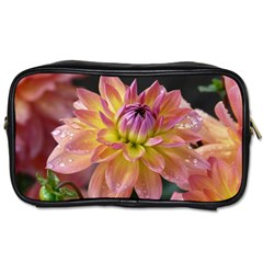Dahlia Garden  Travel Toiletry Bag (two Sides)