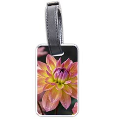 Dahlia Garden  Luggage Tag (one Side)