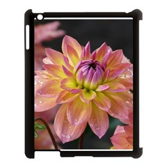 Dahlia Garden  Apple iPad 3/4 Case (Black)