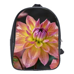 Dahlia Garden  School Bag (XL)