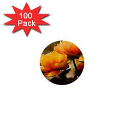 Flowers Butterfly 1  Mini Button (100 pack)