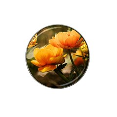 Flowers Butterfly Golf Ball Marker (for Hat Clip)