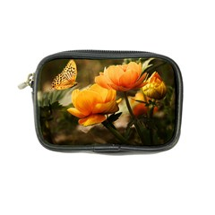 Flowers Butterfly Coin Purse