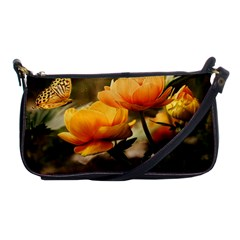 Flowers Butterfly Evening Bag