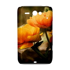 Flowers Butterfly HTC ChaCha / HTC Status Hardshell Case