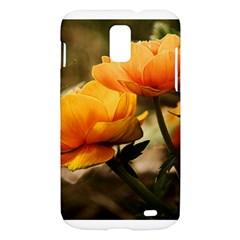 Flowers Butterfly Samsung Galaxy S II Skyrocket Hardshell Case