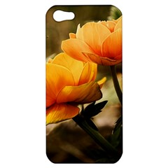 Flowers Butterfly Apple iPhone 5 Hardshell Case