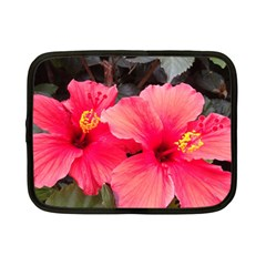Red Hibiscus Netbook Case (Small)