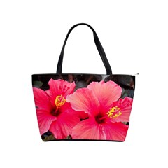 Red Hibiscus Large Shoulder Bag
