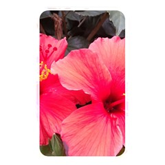 Red Hibiscus Memory Card Reader (Rectangular)