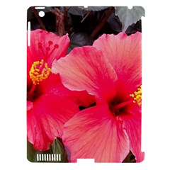 Red Hibiscus Apple Ipad 3/4 Hardshell Case (compatible With Smart Cover)