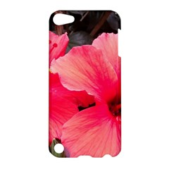 Red Hibiscus Apple iPod Touch 5 Hardshell Case