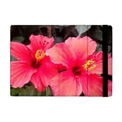 Red Hibiscus Apple iPad Mini Flip Case