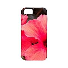 Red Hibiscus Apple iPhone 5 Classic Hardshell Case (PC+Silicone)