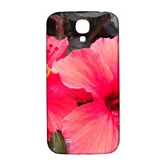Red Hibiscus Samsung Galaxy S4 Hardshell Back Case